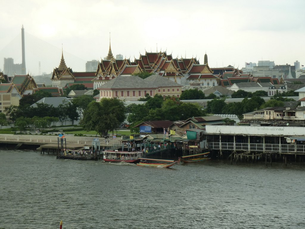 Great Palace viewed from Wat Arun